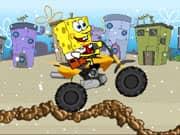Juego Spongebob Snow Motorbike