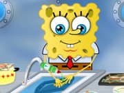 Juego Spongebob Washing Dishes