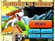 Juego Spunky vs Aliens