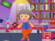 Juego Studious Dora Library Cleaning