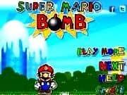 Juego Super Mario Bomba