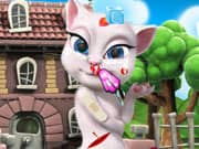 Juego Talking Angela Injury