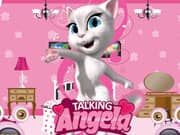 Juego Talking Angela Room Decor