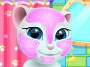 Juego Talking Angela Sesion de Spa