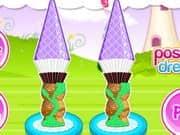Juego Tangled Tower Cupcake
