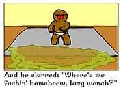 Animacion The BINGE er bread Man