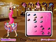 Juego Vestir Bailarina de Flamenco - Vestir Bailarina de Flamenco online gratis, jugar Gratis