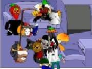 Juego Vestir Personajes de Halloween