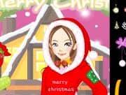 Juego Vestir a Charlotte en Navidad