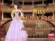 Juego Vestir a Miss Universo