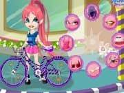 Juego Vestir a Vivian y su bicicleta