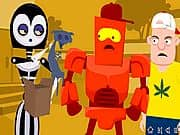Animacion We Are Robots Gothbot