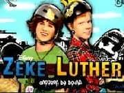 Juego Zeke y Luther Repartiendo Donas
