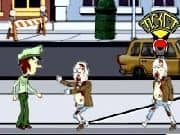 Juego Zombies vs Policia