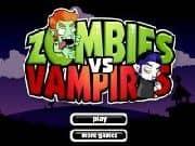 Juego Zombies vs Vampiros