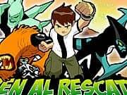 Juego BEN 10 Al Rescate - BEN 10 Al Rescate online gratis, jugar Gratis