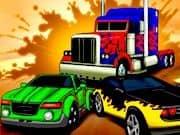 Juego Carrera de Autos Transformers