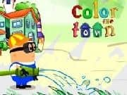 Juego Color the Town - Color the Town online gratis, jugar Gratis