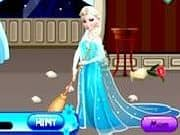 Juego Elsa Limpiando Habitaciones - Elsa Limpiando Habitaciones online gratis, jugar Gratis