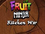 Juego Fruit Ninja kitchen War - Fruit Ninja kitchen War online gratis, jugar Gratis