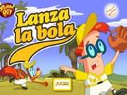 Juego Nino Ardilla Lanza la bola