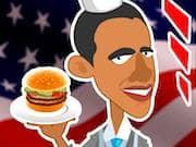 Juego Obama puesto de Hamburguesas