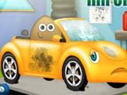 Juego Pou Repara Auto