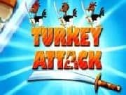 Juego Turkey Attack - Turkey Attack online gratis, jugar Gratis