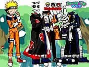 Juego Vestir a Naruto y Compania