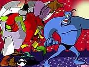 Juego Vestir al Genio Azul de Aladdin